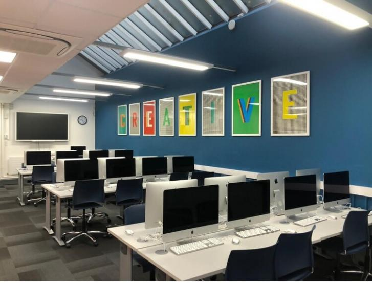 Completion of refurbished Local Growth Fund-supported creative media suite will 'have a positive impact on the lives of many young people'