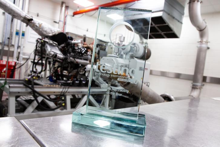 OxLEP-backed test facility at Banbury-based Prodrive wins international magazine award