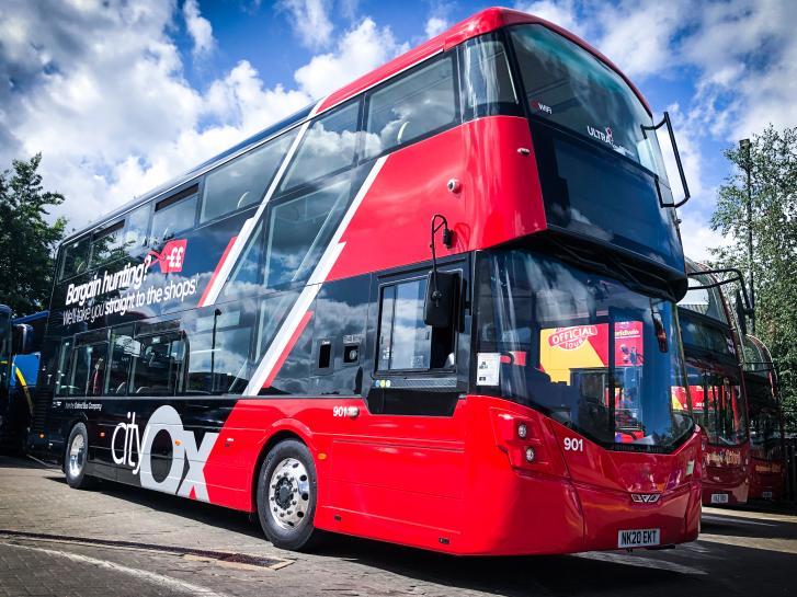 Oxford Bus Company and Thames Travel expands fleet of clean technology buses