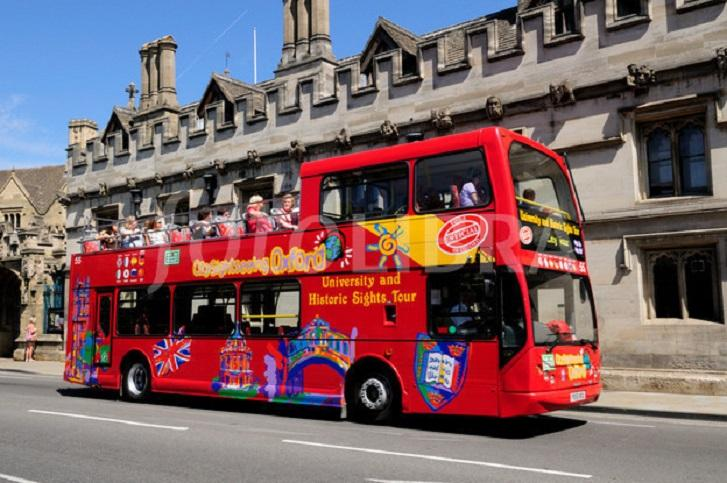 City Sightseeing open top bus tours and Park and Ride 300 service return