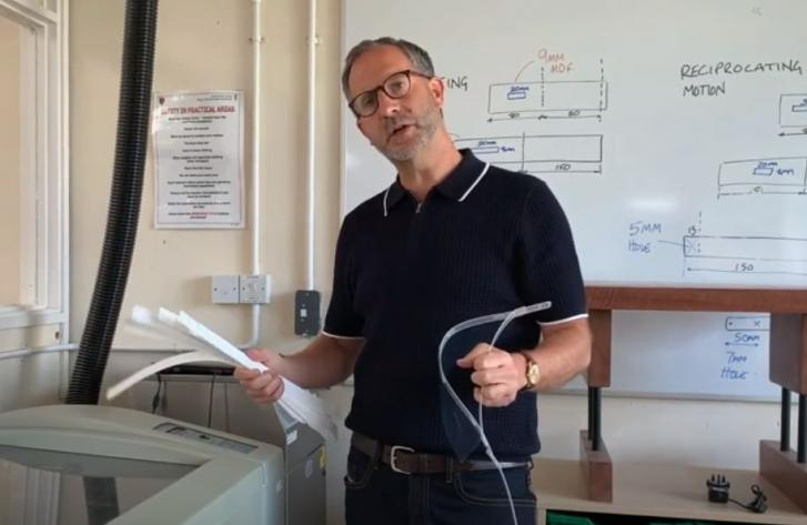 GUEST VLOG: Coronavirus (COVID-19) - Bartholomew School produces PPE with support from local company