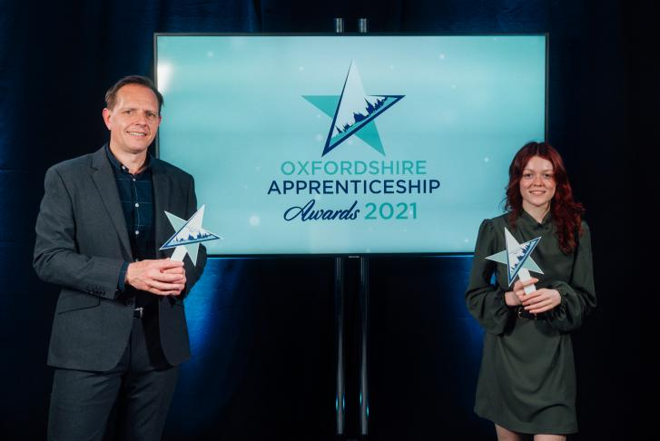 Oxfordshire's apprenticeship champions celebrate success at #OAAwards2021