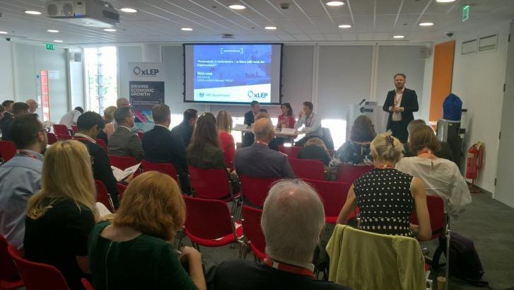 Latest Q&A event: 'Productivity in Oxfordshire - is there still room for improvement?'