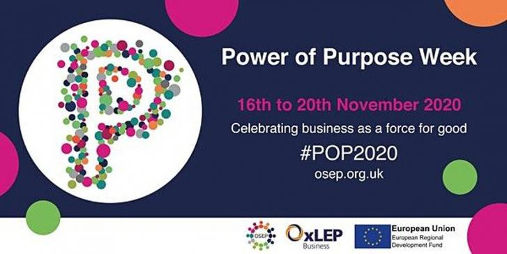 OxLEP BUSINESS EVENT REVIEW: 'POP2020: find out how OxLEP Business can help your purposeful business'