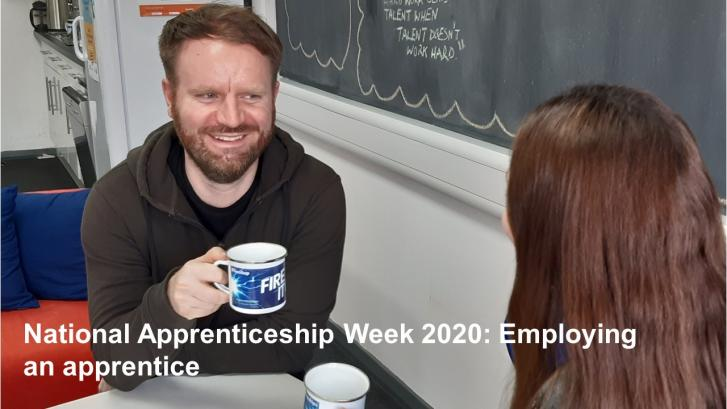 VLOG- National Apprenticeship Week 2020: Employing an apprentice
