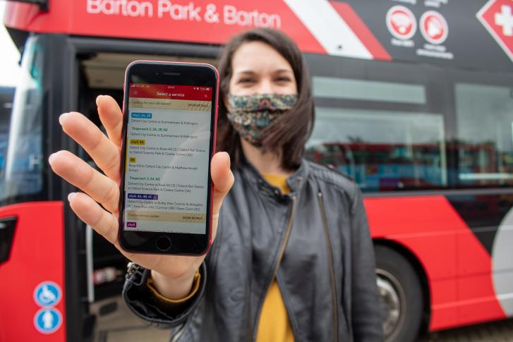 Bus operators launch new and improved mobile phone app