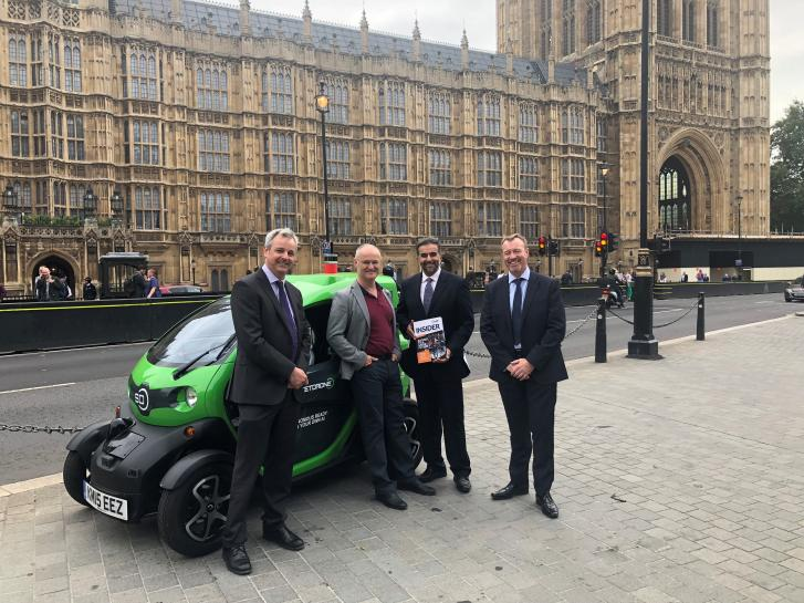 OxLEP takes Oxfordshire's global opportunities to Westminster audience
