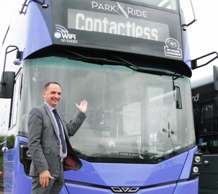 Park and Ride service achieves 'outstanding' passenger satisfaction