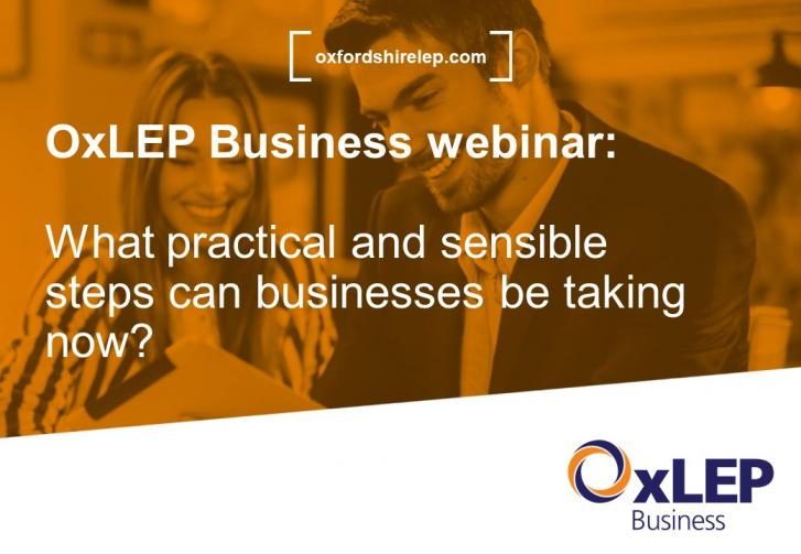 OxLEP Business webinar: What practical and sensible steps can businesses be taking now?