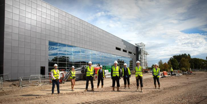 Planners' fast tracking of UK's vaccines manufacturing and innovation centre supercharges delivery