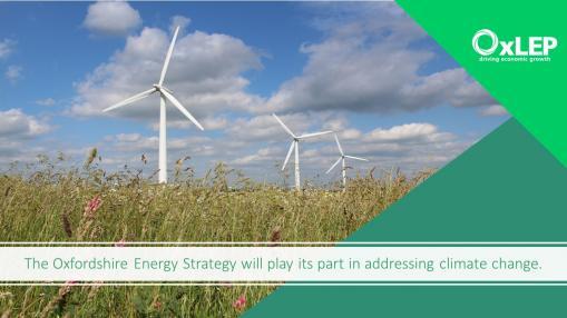 VLOG- The Oxfordshire Energy Strategy: Addressing climate change