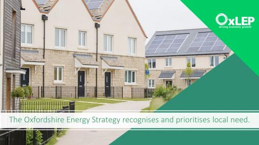 VLOG- The Oxfordshire Energy Strategy: recognising and prioritising local need