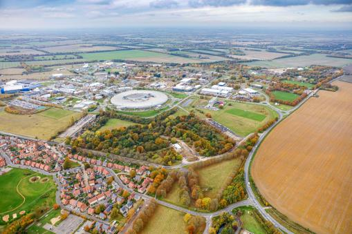Harwell Science and Innovation Campus awarded 'Life Sciences Opportunity Zone' for pioneering work and thriving ecosystem