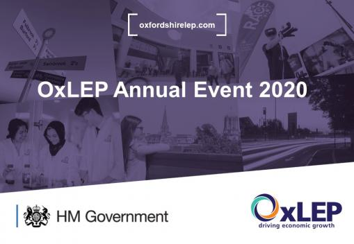 OxLEP Annual Event 2020: 'Working hard to ensure our business community can be supported – and remain resilient – during this challenging period'