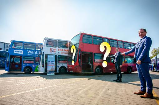 Oxford Bus Company launches 2021 brand the bus competition
