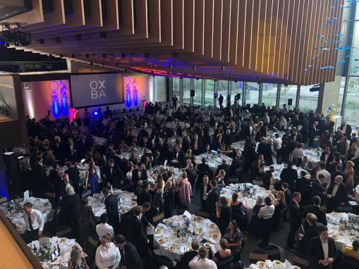 Oxfordshire businesses celebrate success following 25th annual business awards for the county