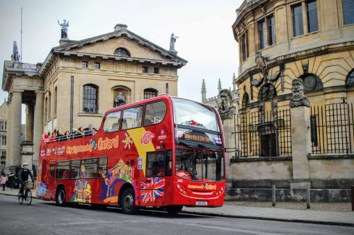 City Sightseeing gives Rediscover Oxford campaign a school holiday boost