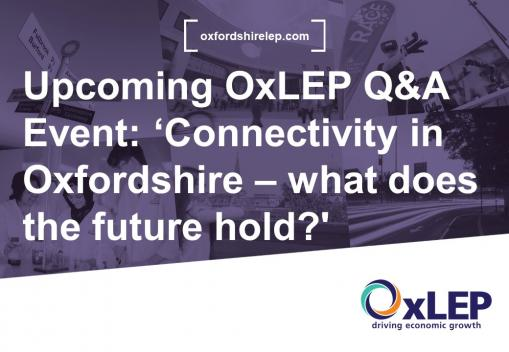 VLOG- 'Connectivity in Oxfordshire - what does the future hold?'