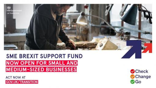Closing this Wednesday: SME Brexit Support Fund