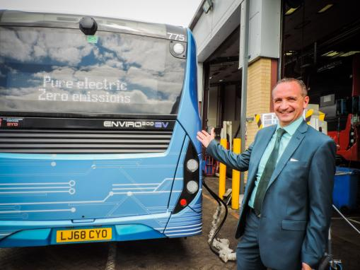 Oxford Bus Company complete latest trial of fully-electric bus