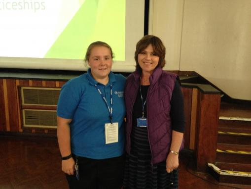 'Back to the old school' for apprenticeship ambassador Katherine