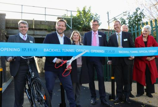 Disused underpass – closed for several decades – reopens to the benefit of thousands of workers