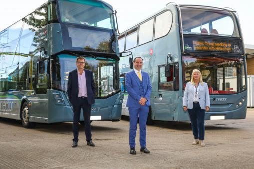 Launching January 2021: enhanced shuttle bus and local bus services to Oxford and Wantage