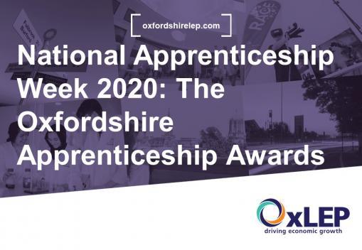 VLOG- National Apprenticeship Week 2020: The Oxfordshire Apprenticeship Awards