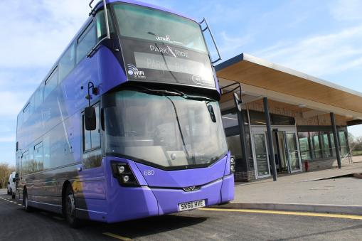 New customer facilities unveiled at Seacourt Park and Ride