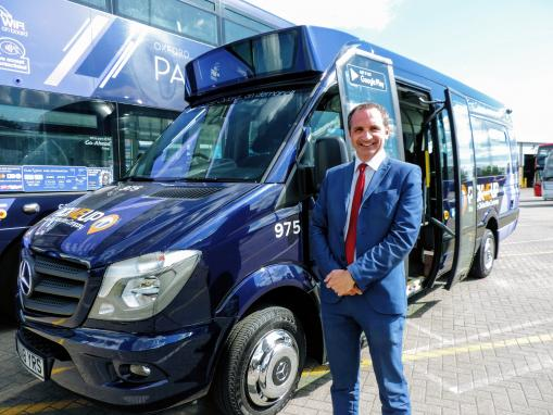 Oxford Bus Company's PickMeUp service to expand into Horspath