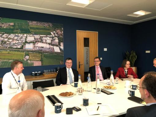 Oxfordshire businesses discuss future opportunities with 'Corridor' champion
