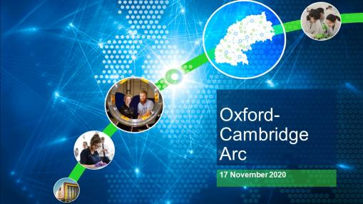 The Oxford-Cambridge Arc: A global asset and national investment priority