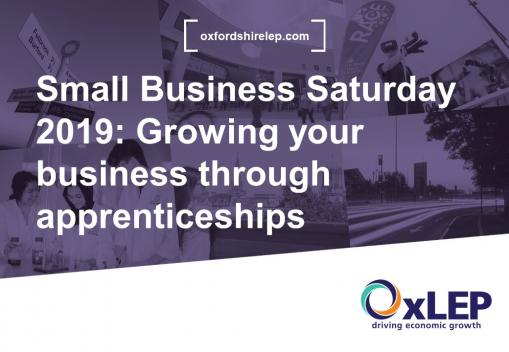 VLOG- Small Business Saturday 2019: Growing your business through apprenticeships