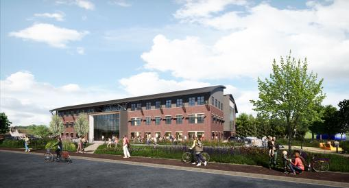 'Humming' soon: Milton Park unveils plans for the Bee House, Oxfordshire's new and largest flexible co-working building