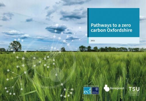 Major new report provides a roadmap towards Oxfordshire's zero-carbon future