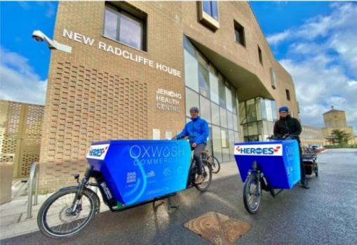Guest Blog: How eco laundry business Oxwash is supporting communities through COVID-19