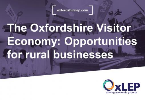 VLOG- The Oxfordshire Visitor Economy: Opportunities for rural businesses
