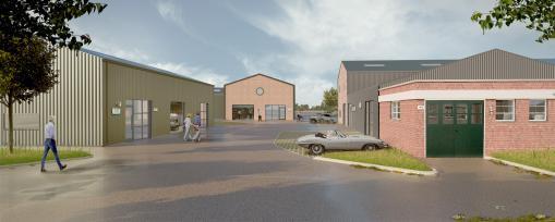 Work starting on next phase of Bicester Heritage development