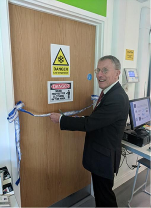 A UK first: UTC Oxfordshire opens first cryogenics laboratory