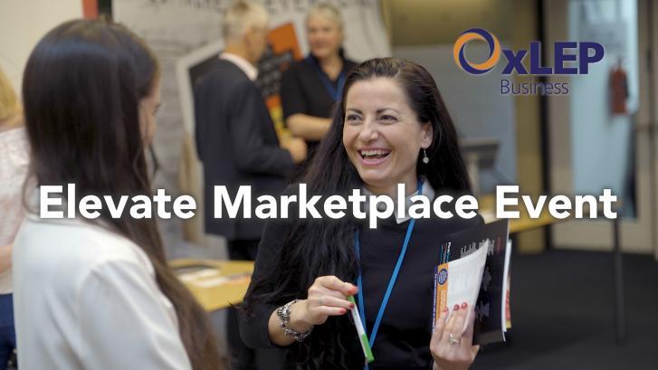 Elevate Marketplace event - June 2018
