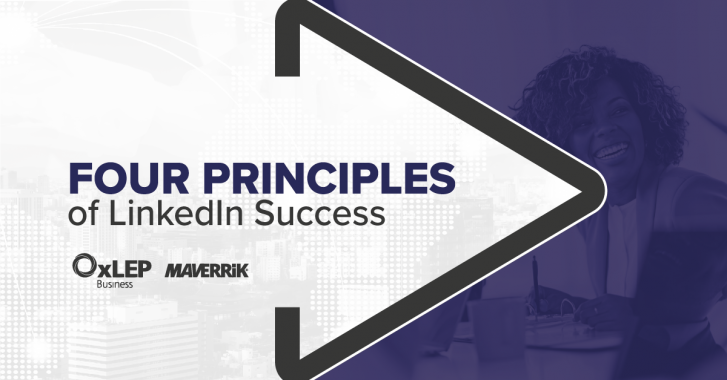 Four principles of LinkedIn success header image