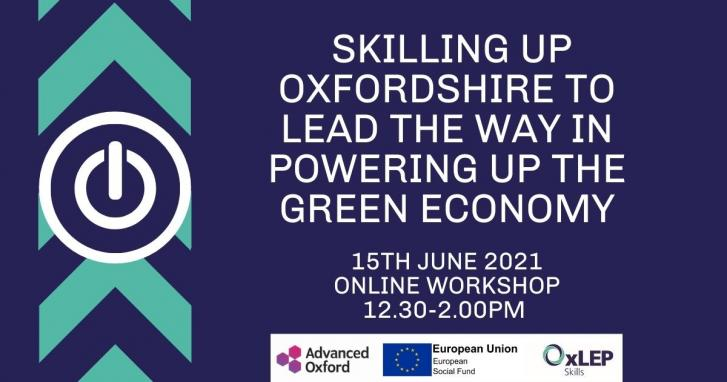 Skilling up Oxfordshire to lead the way in powering up the green economy