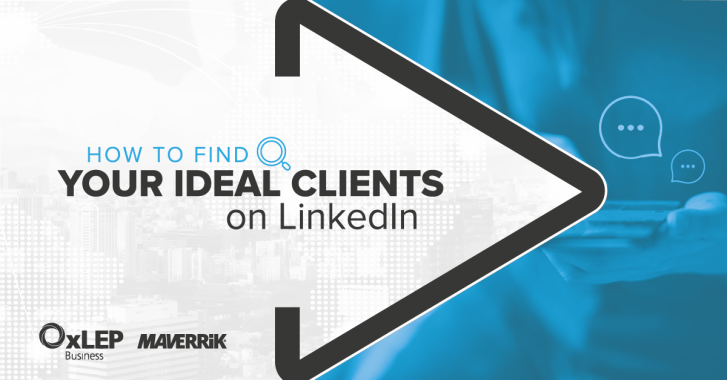 How to Find your Ideal Clients on LinkedIn banner image