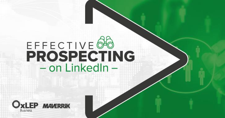 Effective Prospecting on LinkedIn