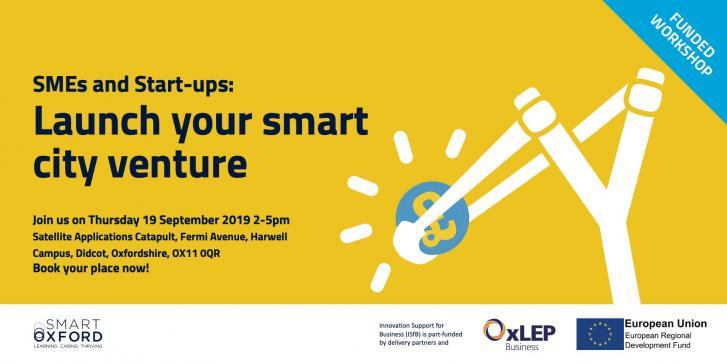 SMEs & Start-ups: Launch your smart city venture