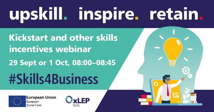 Kickstart and other skills incentives - all you need to know