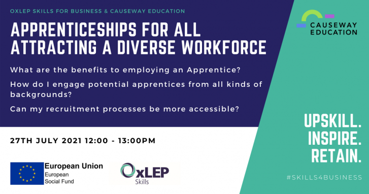 Apprenticeships for All - Attracting a Diverse Workforce
