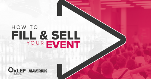 How to Fill and Sell Your Event