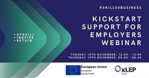 Kickstart support for employers