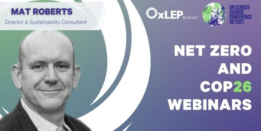 OxLEP Net Zero and COP26 Webinar Series: What businesses need to know
